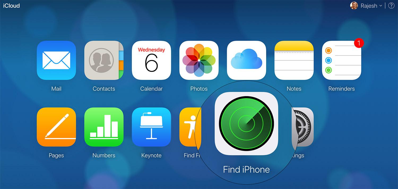 Iphone verilerini uzaktan silme